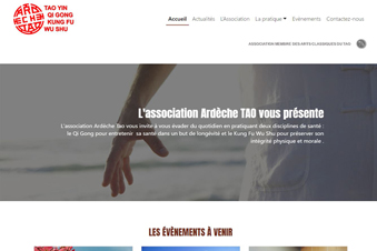 Site Web de l'association Ardèche TAO