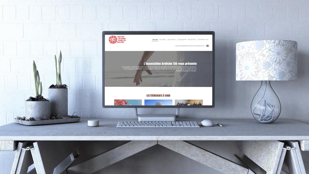 Développement du site Web pour une association de Qi Gong