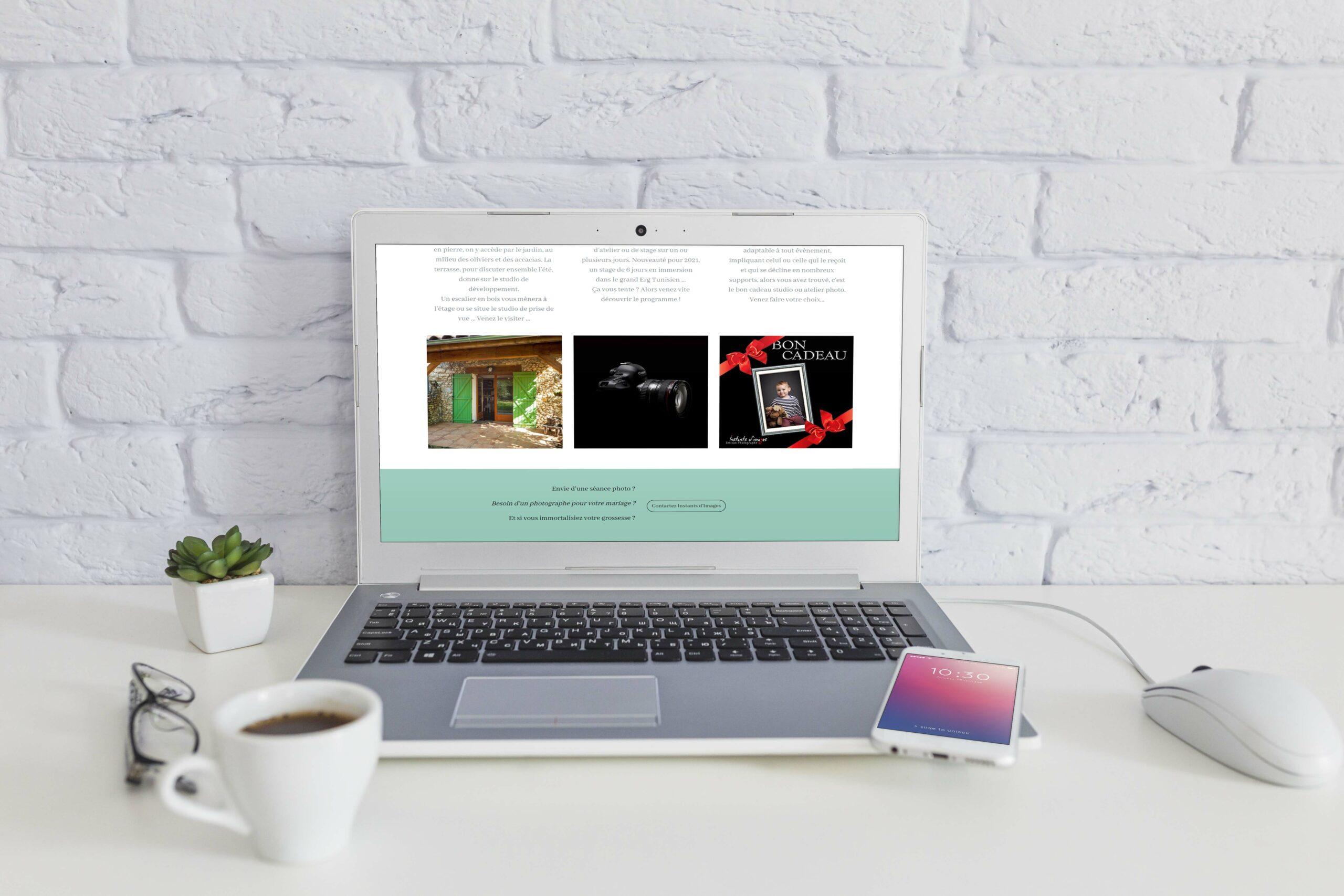 Accueil du site Instants d'Images